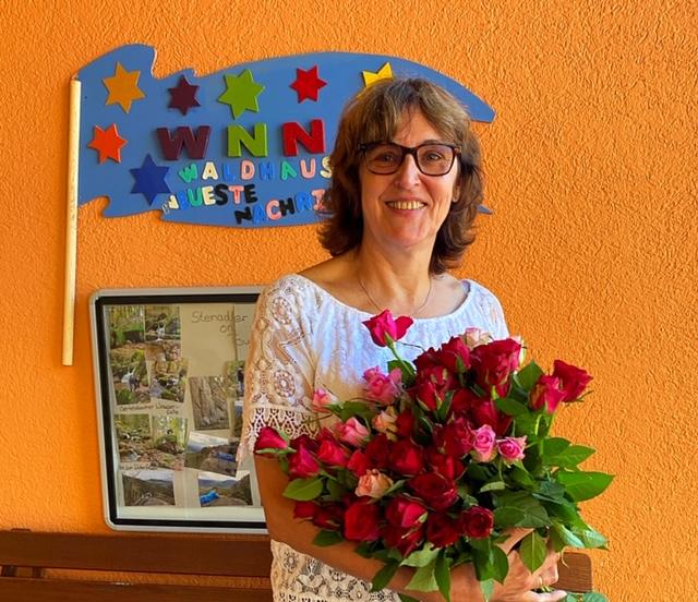 40 Jahre Waldhaus: Geschäftsleiterin Irene Gerber feiert Jubiläum