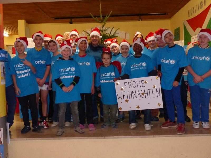 """Waldhausschule bleibt weiterhin """"Schule aktiv für UNICEF"""""""