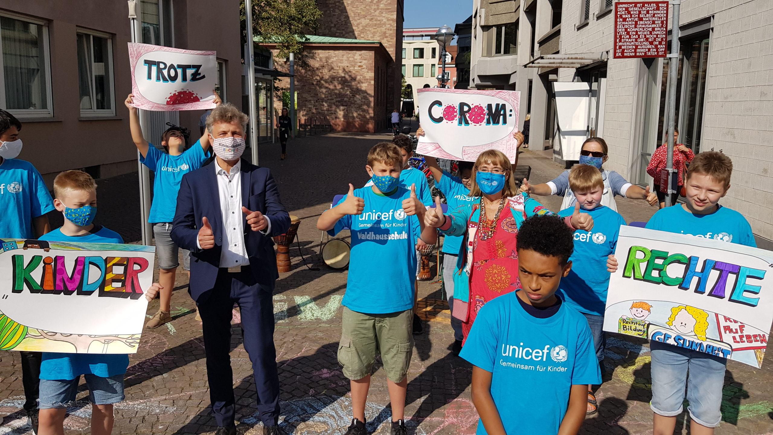 Trotz Corona: Kinder haben Rechte!
