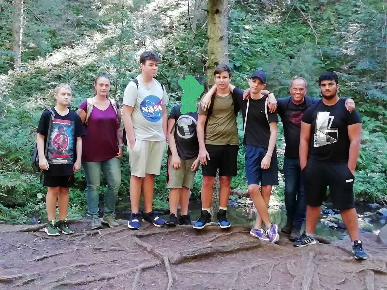 Sommerfreizeit der TG Storchennest im Stöcklewald