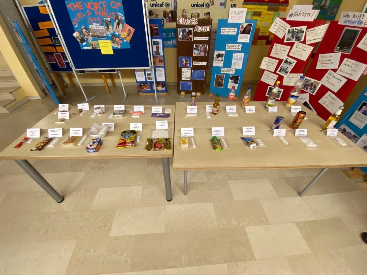 Zahngesundheit und Zuckerausstellung in der Waldhausschule