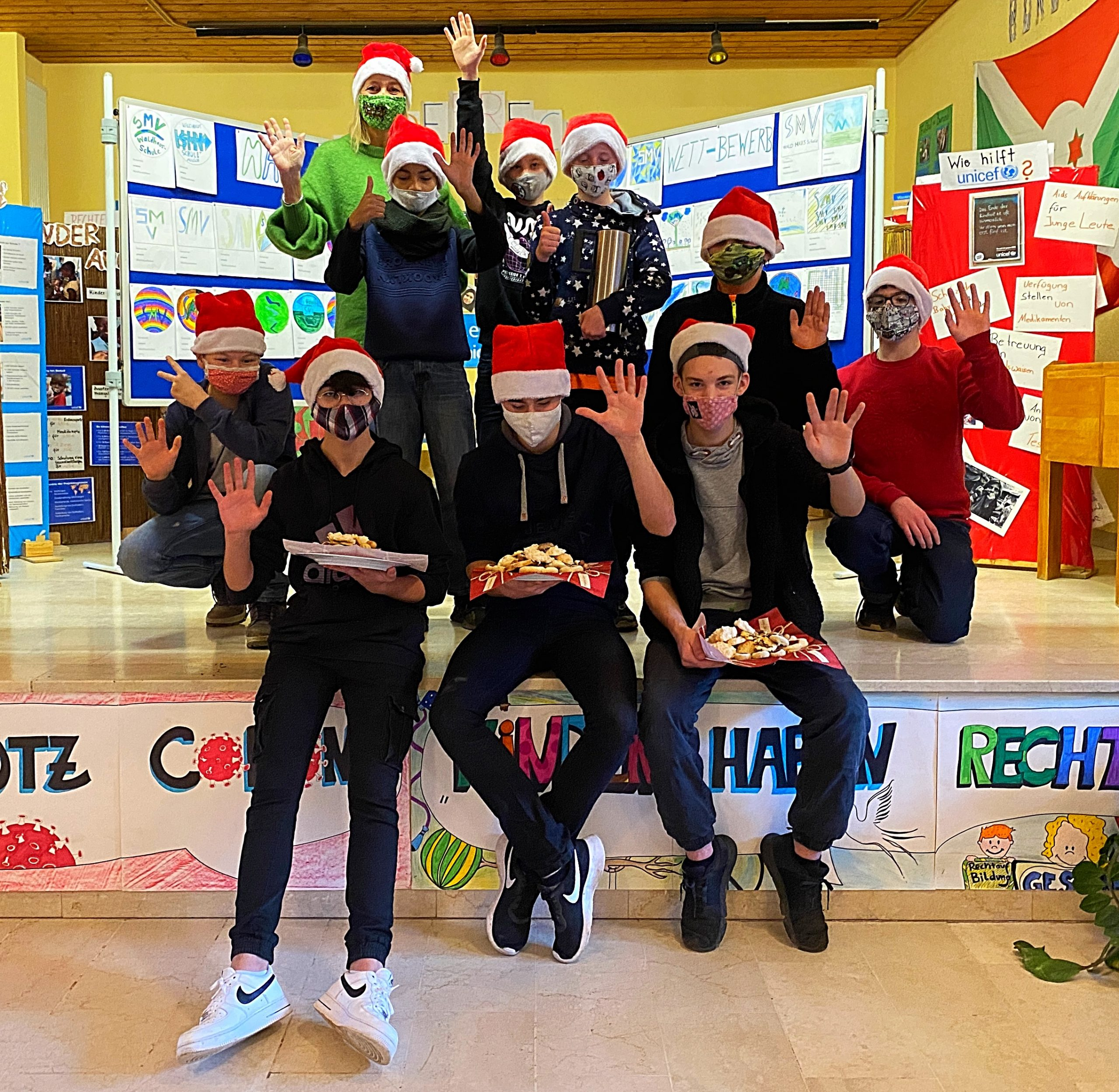 Weihnachtskino in der Waldhausschule