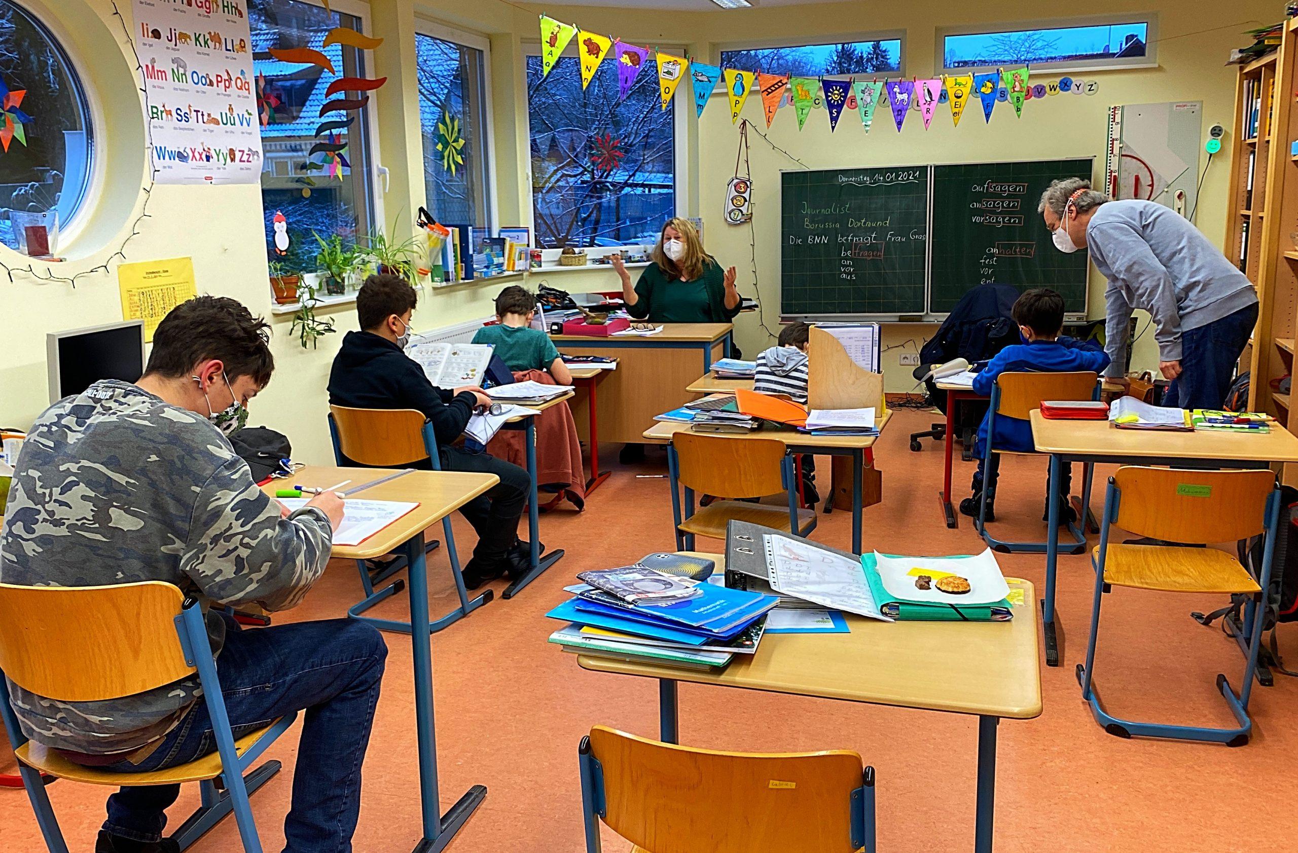 Lockdown in der Waldhausschule: Lernen, jetzt erst recht!