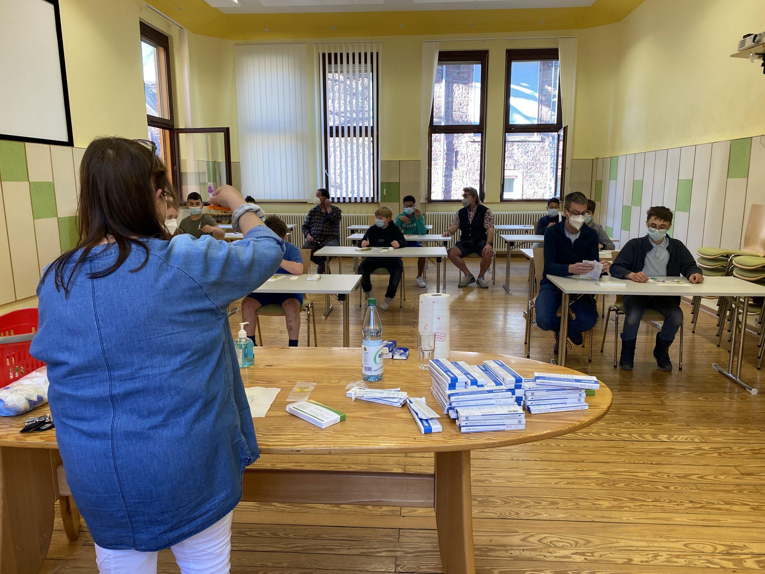 Teststrategie im  Waldhaus: Übung macht den Meister