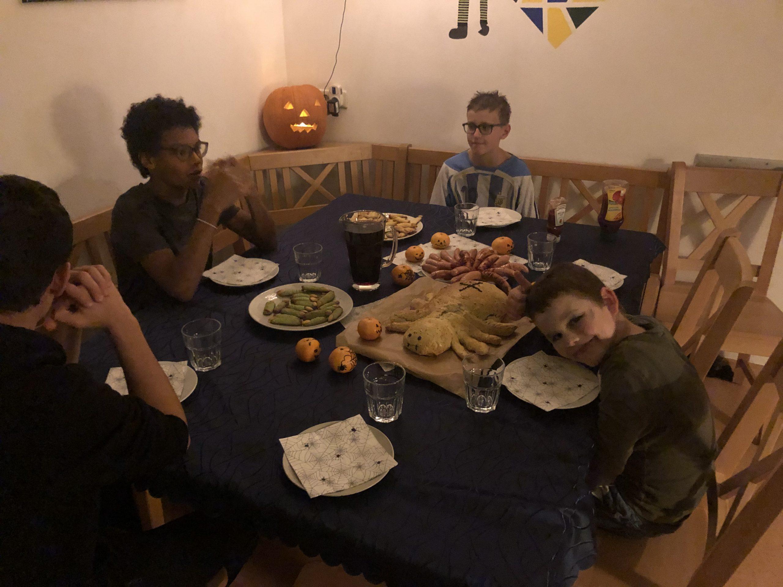 Happy Halloween 2020 in der Feriengruppe