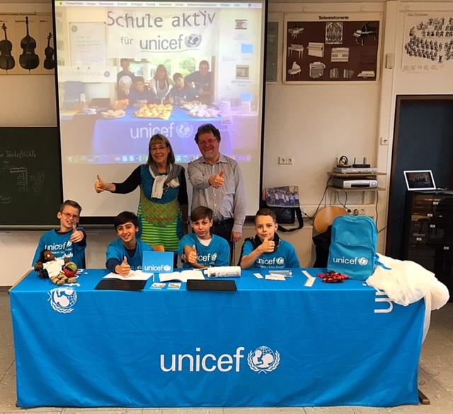 Kinderrechteworkshop an der Anne-Frank-Schule